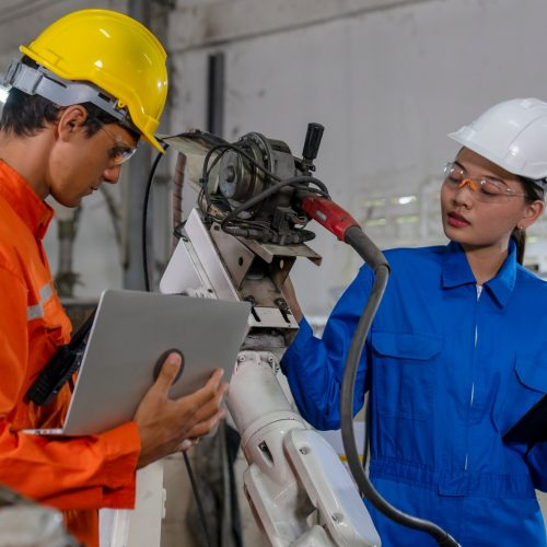 Engineering control robot arm