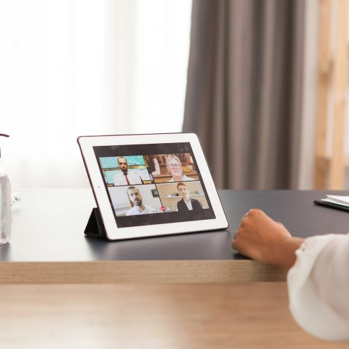 Tablet video call